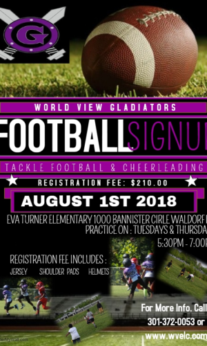 Football Sign Up 2018